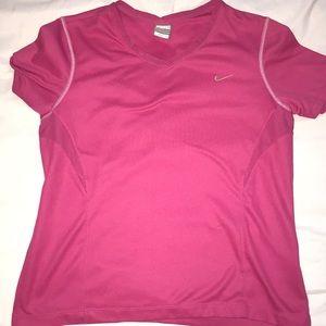 Pink Nike Tee